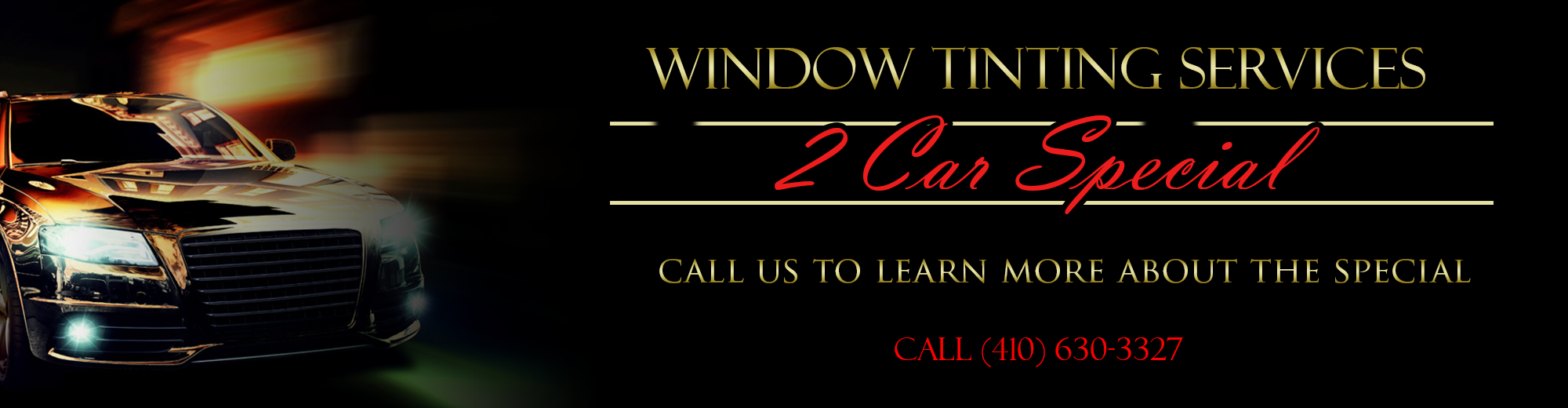 Window Tinting Services
